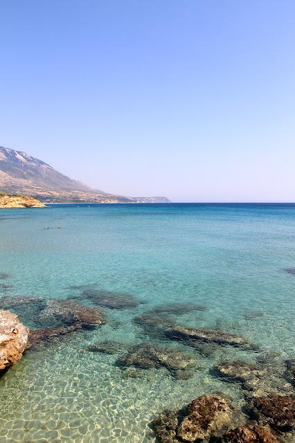 Agios Thomas Beach, Kefalonia Greece