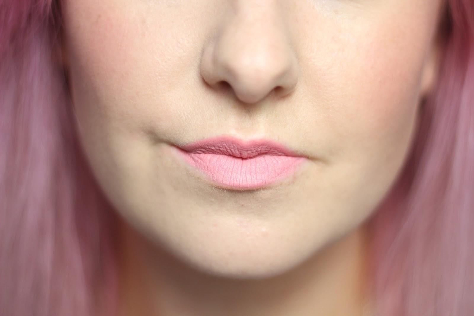 illamasqua-fable-lipstick, illamasqua-fable-lipstick-swatch
