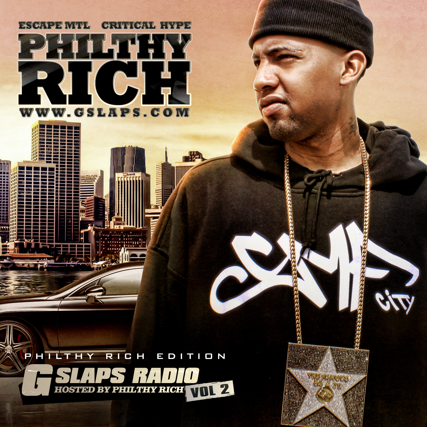philthy rich gslaps radio front cover