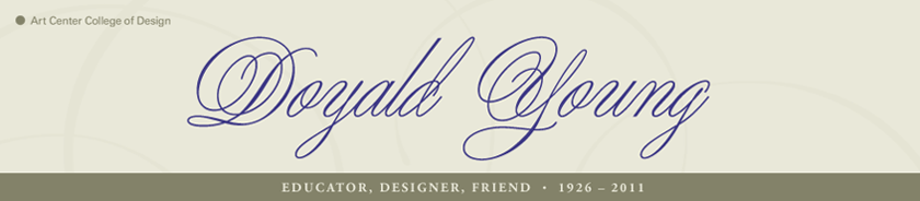Doyald Young: Educator, Designer, Friend  19262011