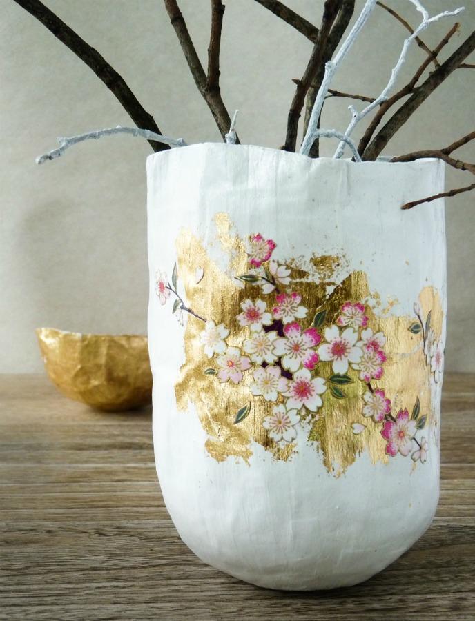 Как закрасить вазу