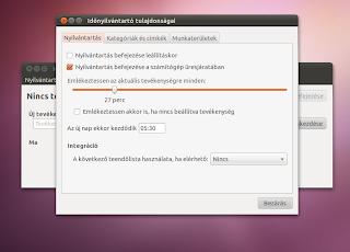 Ubuntu linux időbesoztása