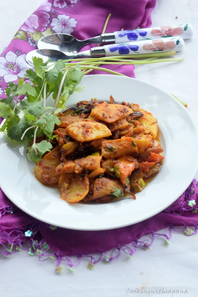 Salgam ki Sabzi |Turnip Curry