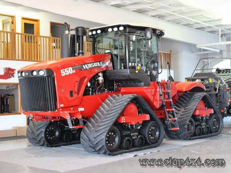 Tractors Farm Machinery Versatile 550dt