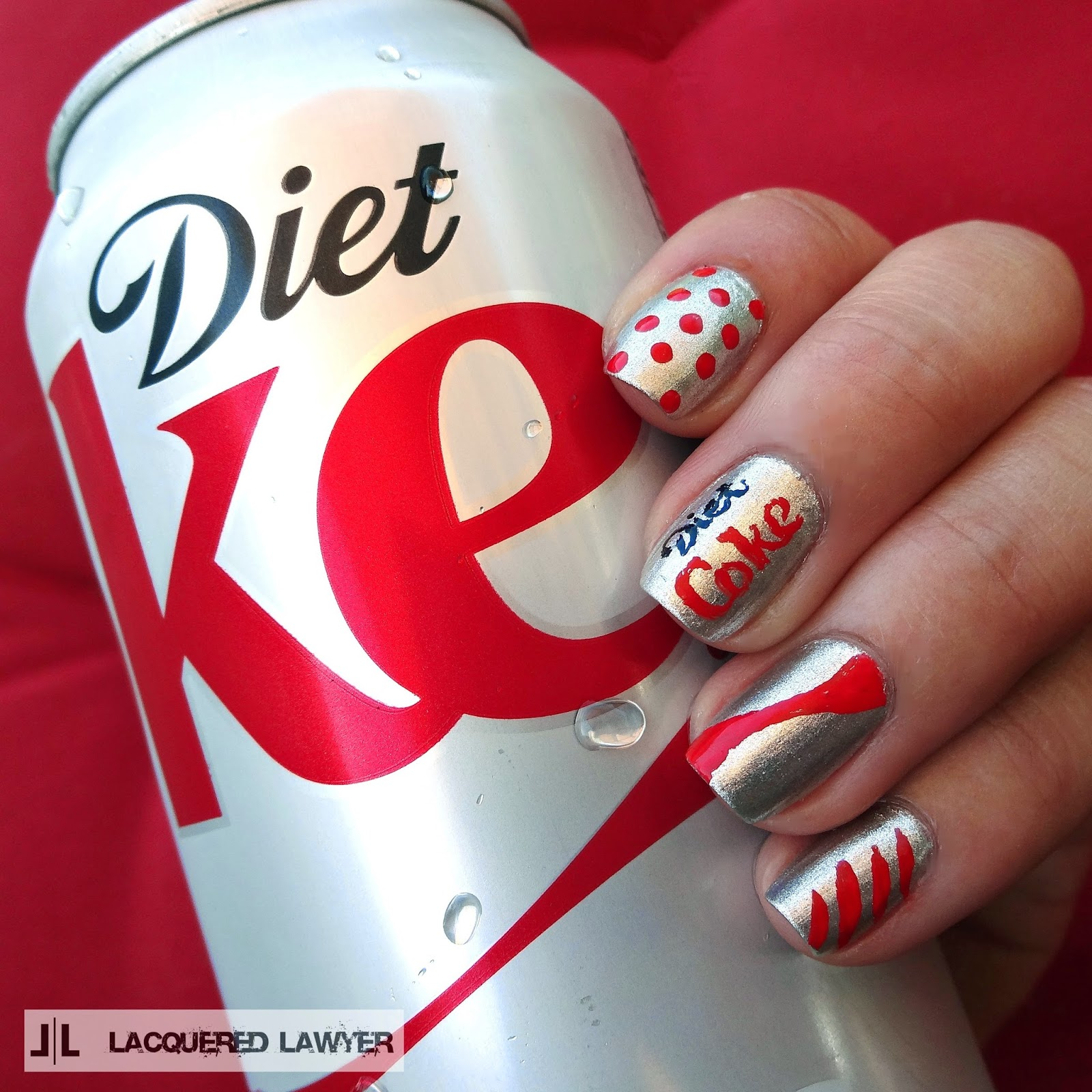 Diet Coke Nails