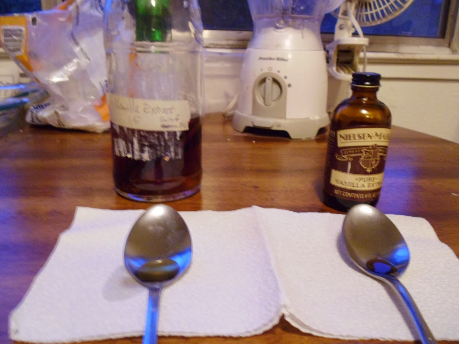 Vanilla Extract Taste Test