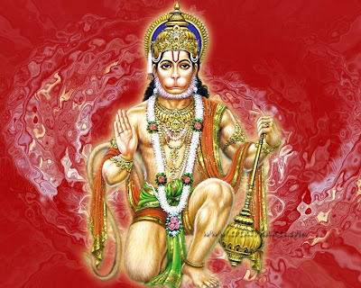 wallpaper of hanuman