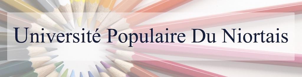 Université Populaire du Niortais