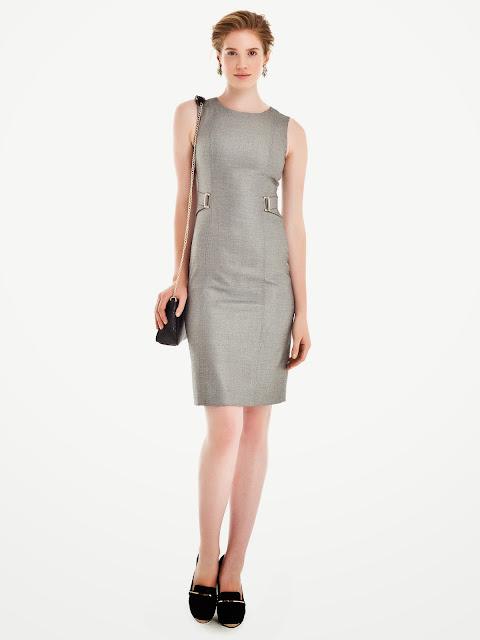 gümüş renkli elbise, 2014 elbise modelleri, ipekyol elbise