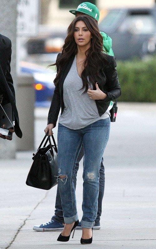 Fashion Beauty Glamour Kim Kardashian out in LA March 8 2012 + celeb look for less