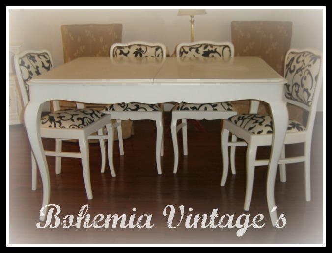 Mesas De Comedor Antiguas Restauradas. Cheap Antiguo Juego De ...