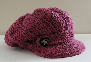كروشيه قبعات