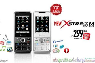 Spesifikasi Smartfren Xstre@m Hp Modem EV-DO Terbaru 2012