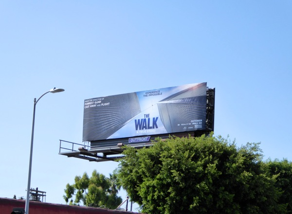 Walk movie billboard