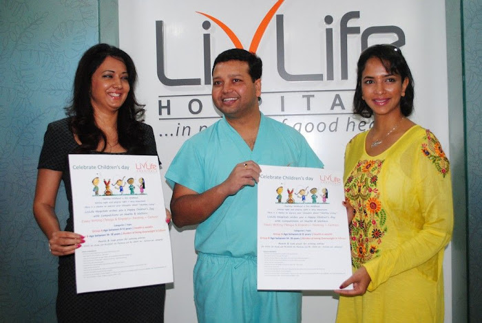 Lakshmi Prasanna @ Livlife Hospitals Function Photo Set - N/W  Lakshmi-Prasanna-at-Livlife-Hospitals_051