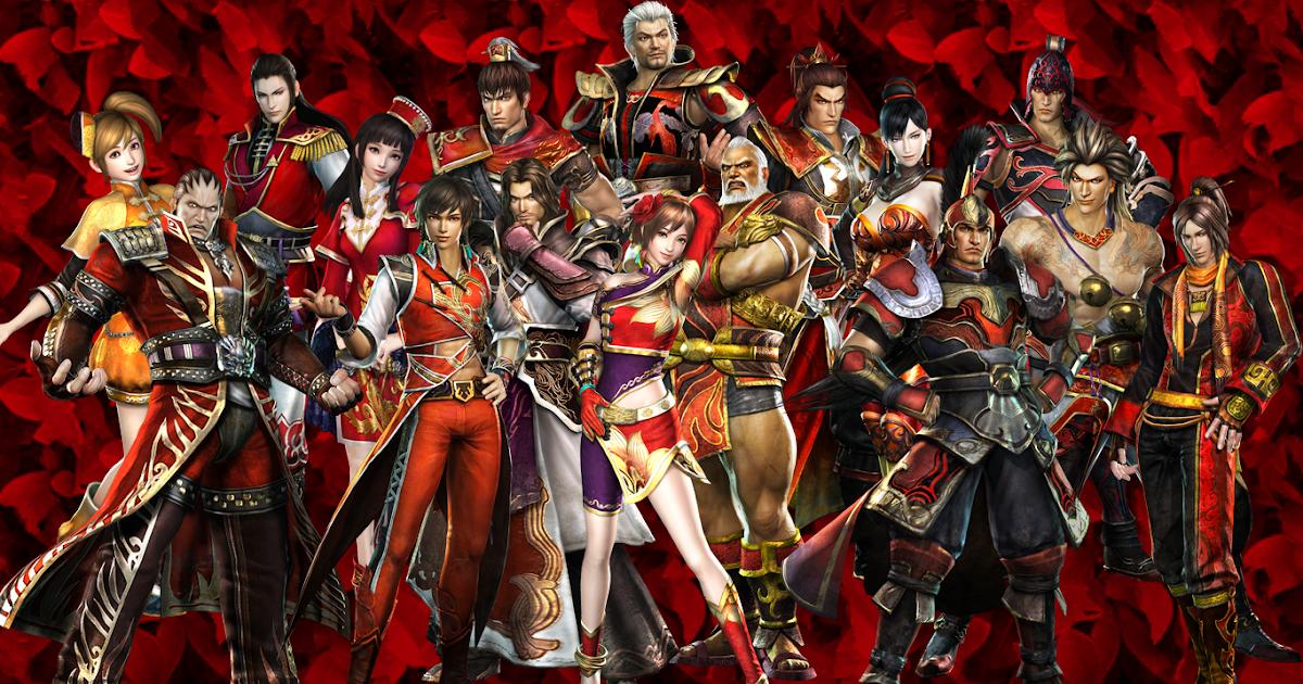 Gordon's Graphic Designs: Dynasty Warriors 7: Wu Wallpaper