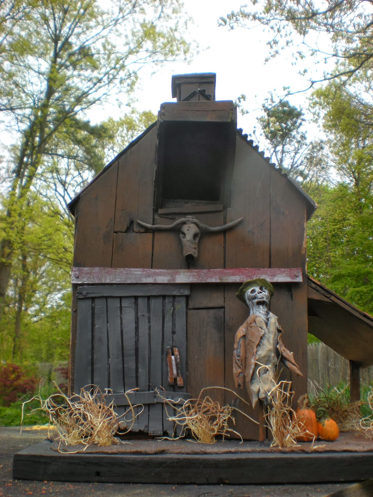 spooky barns
