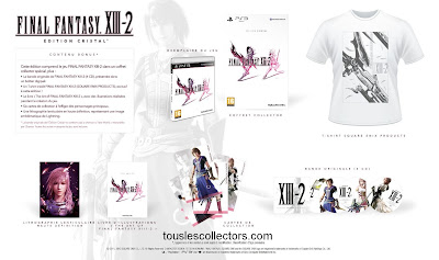 PS3 Final Fantasy XIII-2 Edition Cristal