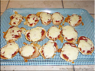 easy pizza appetizers ready to serve