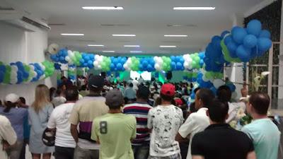 Em Sapé: DEM realiza evento municipal, reúne lideranças e lança Jojó pré-candidato a prefeito para 2016 com a presença de uma multidão