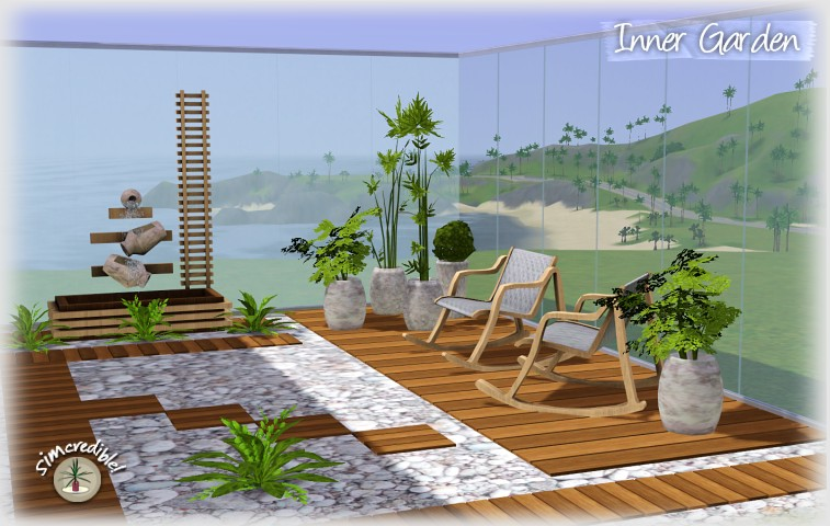my sims 3 blog inner garden living set by simcredible designs