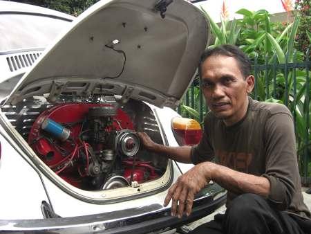cerita humor lucu ngakak  Mesin Cadangan di Bagasi Belakang VW Kodok