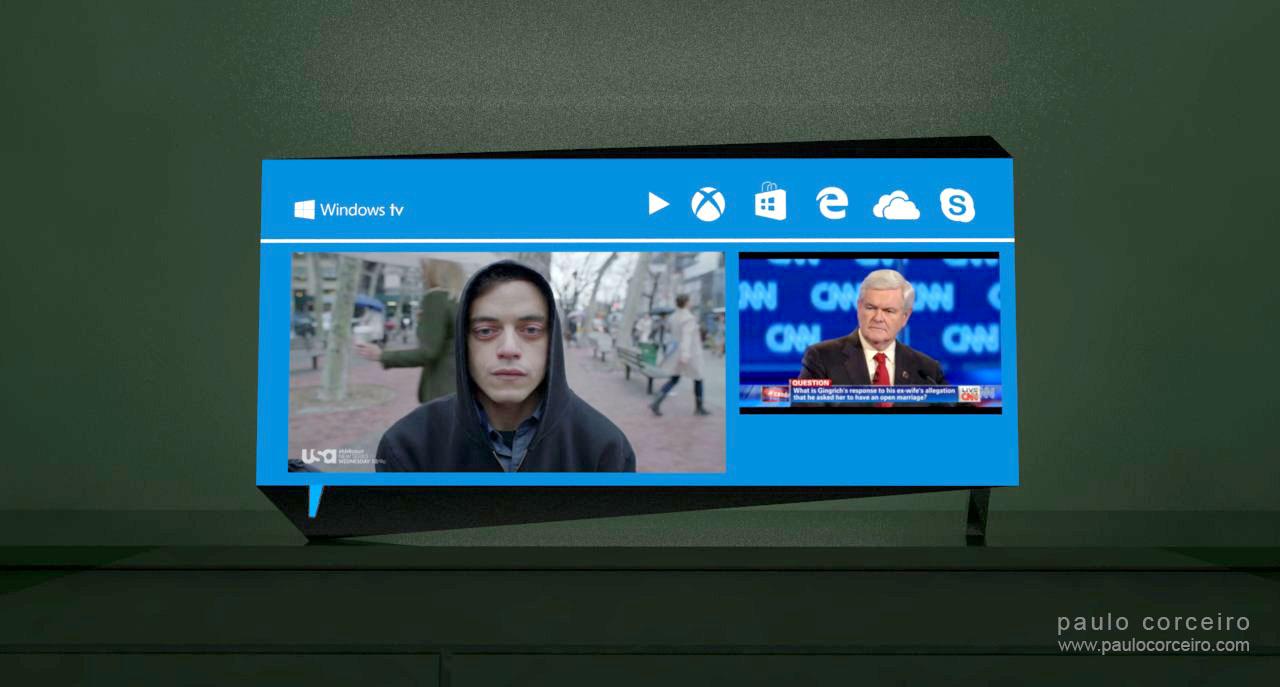 Gigaom | Microsoft introduces Surface Hub, a 4K TV with Windows 10