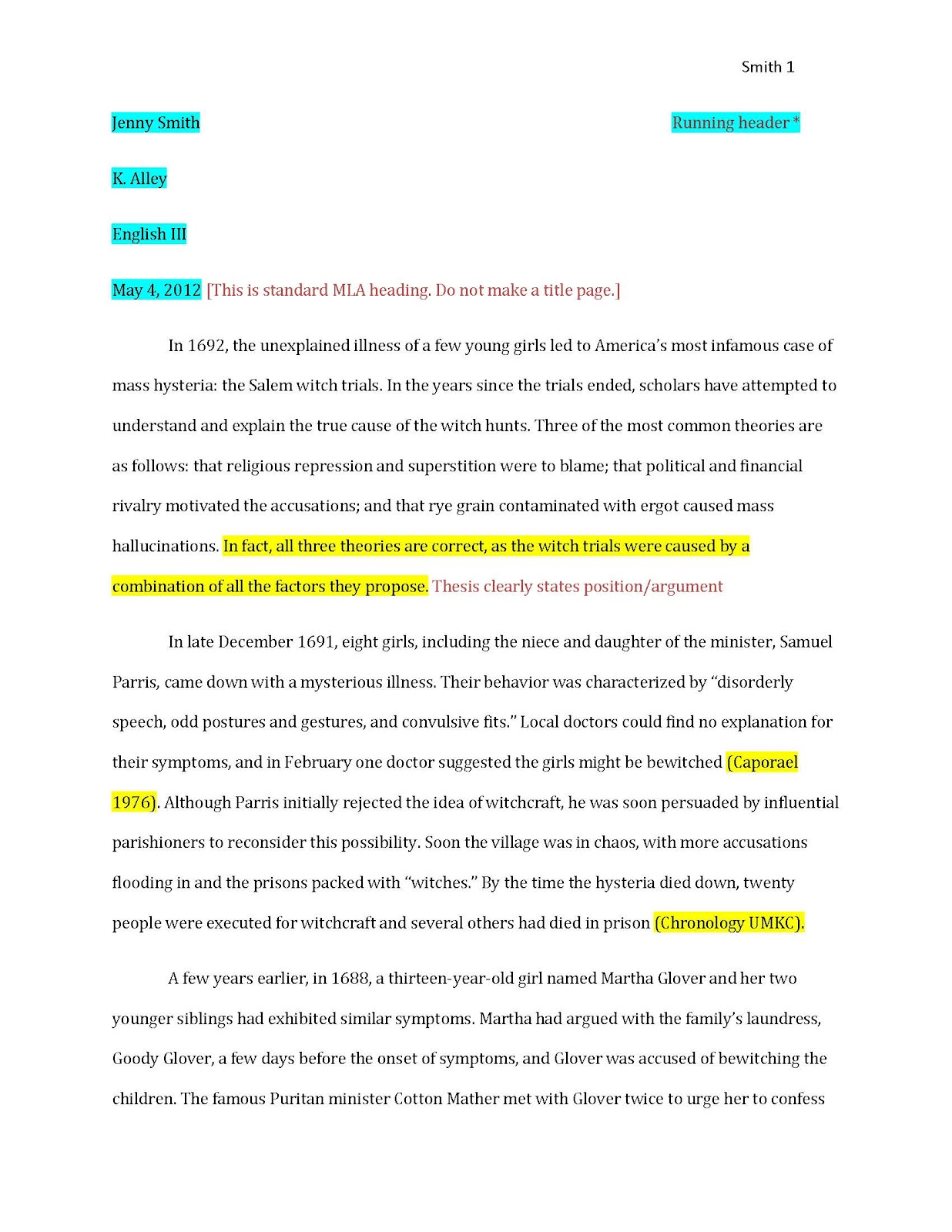 Outline For Cause And Effect Essay Essay With Citations Example Of Essays Citations Template Essay  Remember The Titans Essay also Archetype Essay Citation Examples In Essays  Underfontanacountryinncom Child Labour Essay