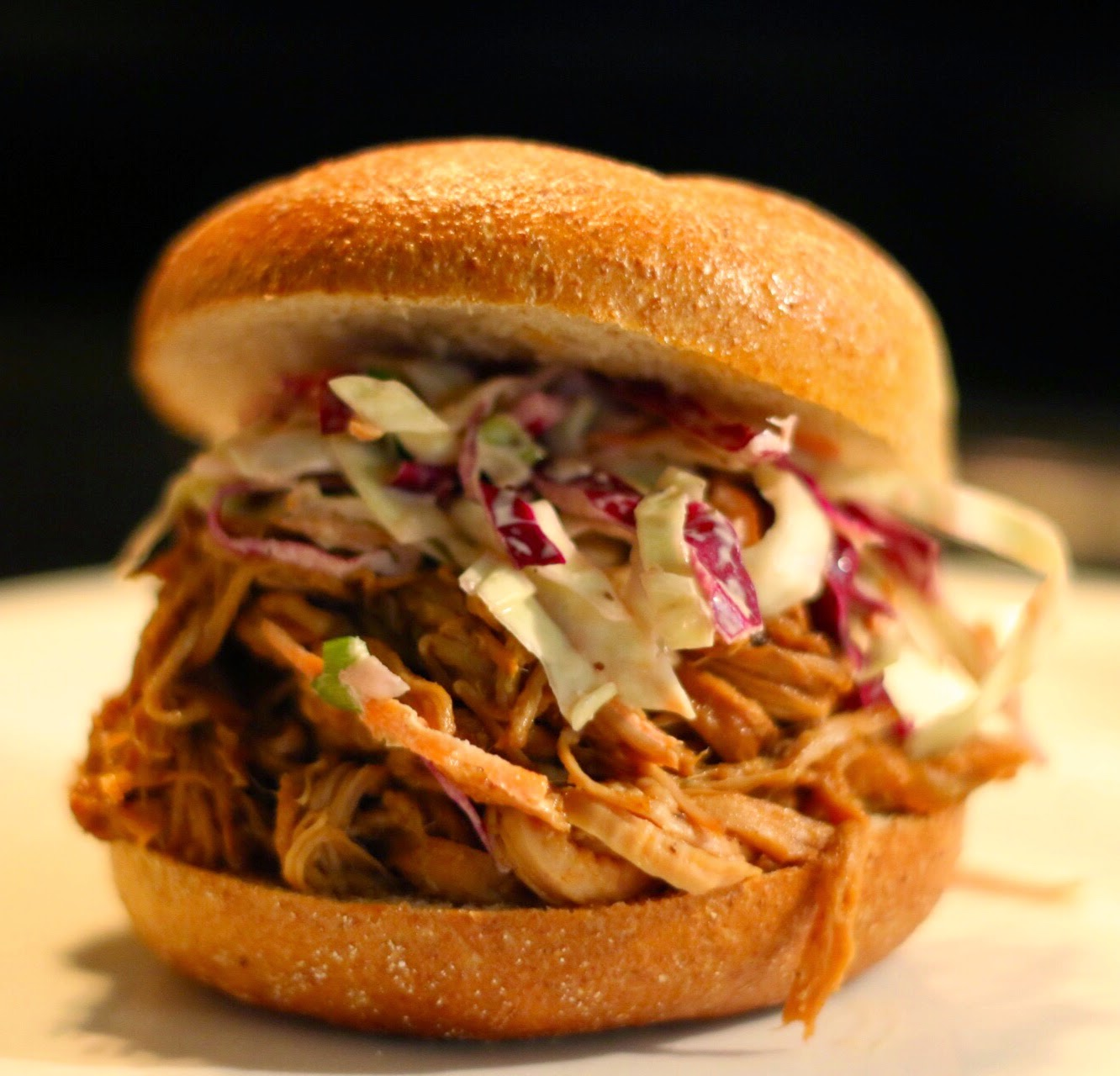 Make It Happen: Pulled Pork Sandwich with Coleslaw