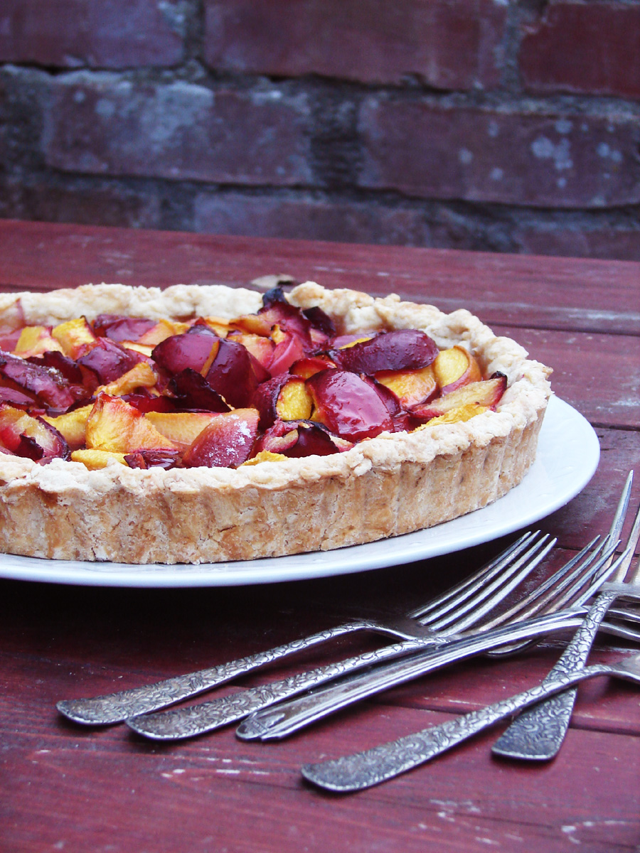Peach And Plum Pie Recipes — Dishmaps