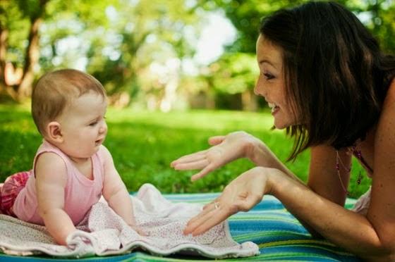 Cara mudah ransang minda bayi