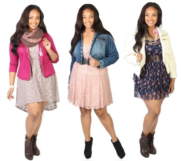 Fashionable clothes for plus size women