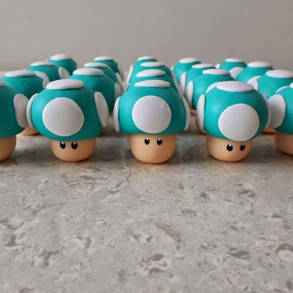 Cogumelos do Mario Bros