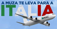 Promoção 'A Muza te leva pra Itália'