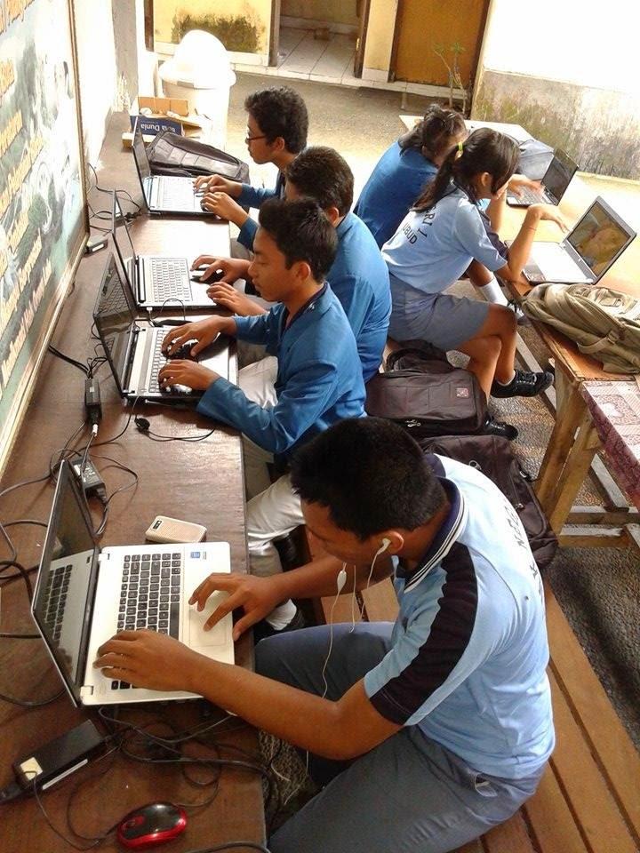 Siswa Mulai Sadar untuk Menggunakan fasilitas sekolah untuk Internet Murah