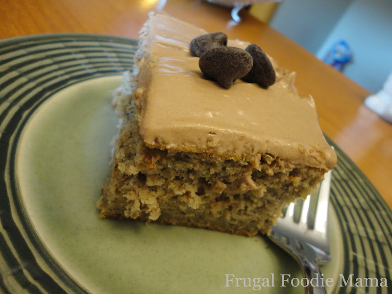 ... Mama: Banana Chocolate Chip Cake with Nutella Cream Cheese Frosting