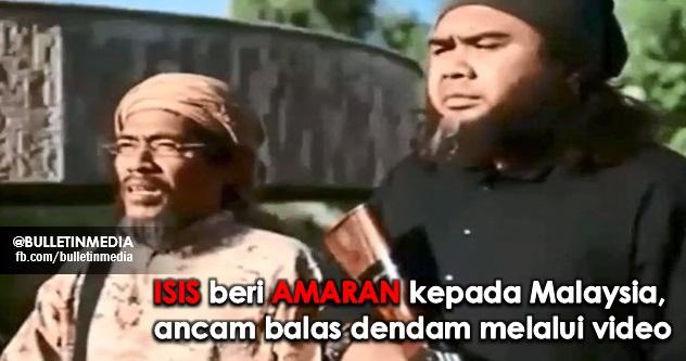 ISIS beri AMARAN kepada Malaysia, ancam balas dendam melalui video