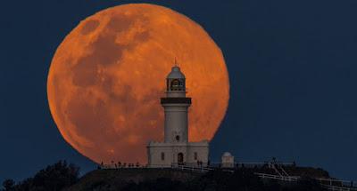 ¿Cómo se denomina esta peculiar Luna Llena?