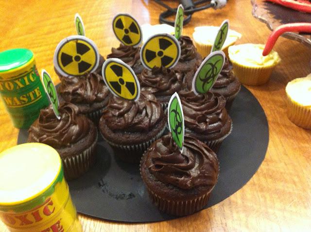 Hazardous Materials Cupcakes