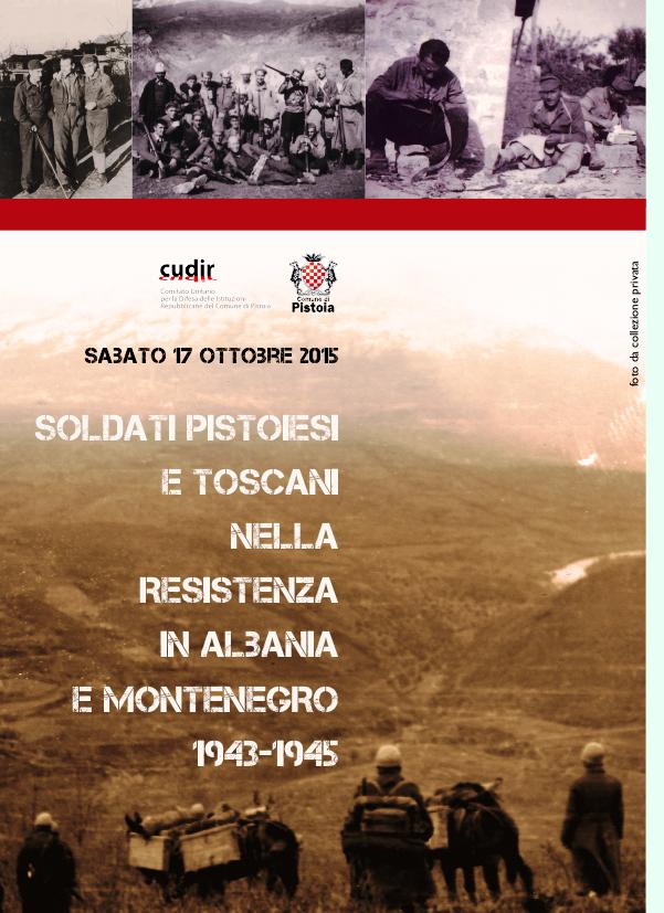 Pistoia 15 ottobre 2015 Convegno Albania