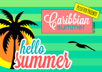 Plotter-Freebie Caribbean Summer