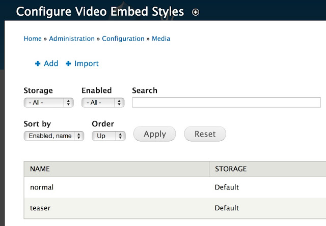 How to Manage Video Styles using Video Embed Field Module in Drupal 7