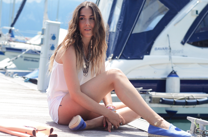 alison liaudat, blog mode suisse, fashion blogger, messy hair, wild stylers, beauty, beach waves, out of bed look,