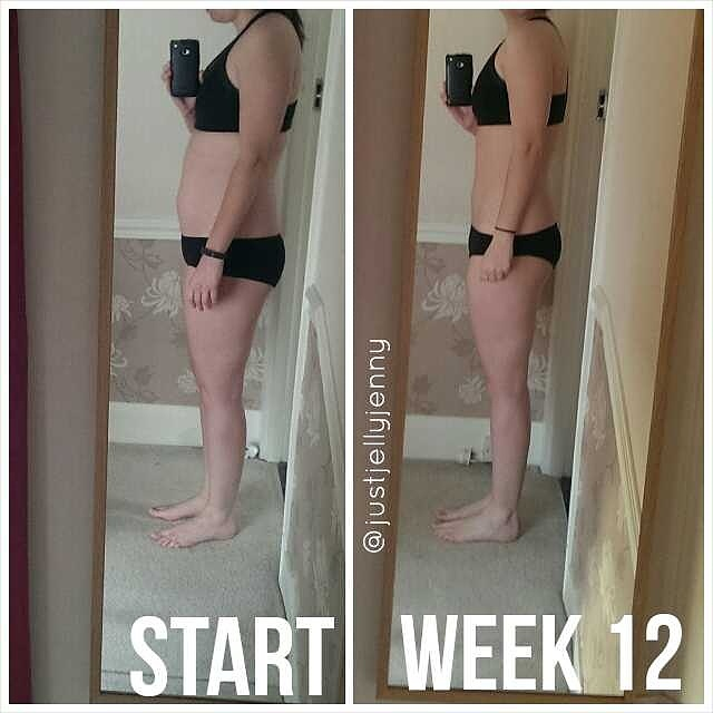 Kayla Itsines 12 week bikini body guide progress