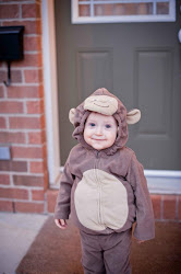 Now is he not the cutest grandmonkey you have ever seen?  Hudson Daniel at 19 months!
