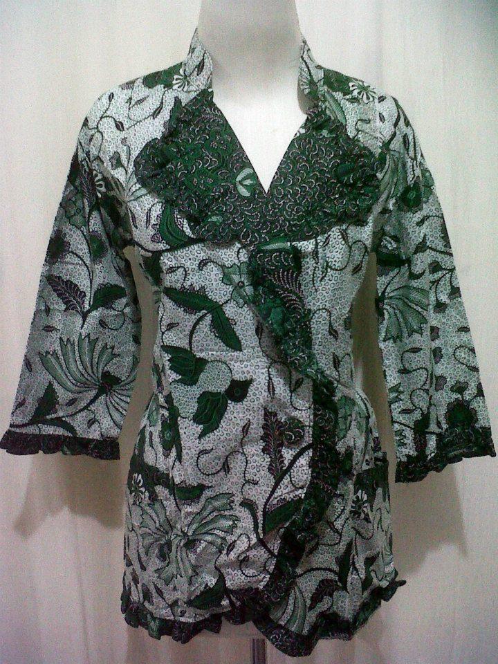 Produsen Blus Rempel Batik Pekalongan Grosir Batik