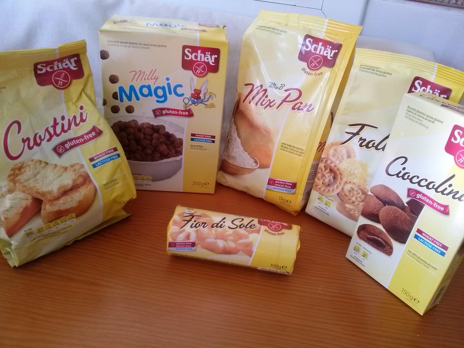 La peque a cocina de alice productos schar sin gluten y for Productos para cocina