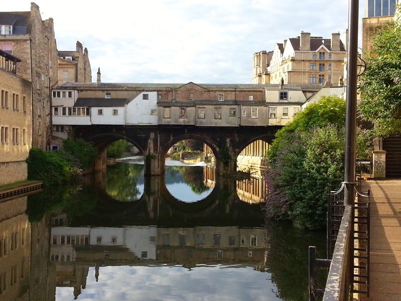 Bath River Avon Pulteney Bridge