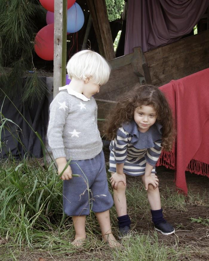 Waddler AW14/15 children's luxury alpaca knits