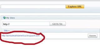 Submit Sitemap Blog Ke Yahoo Site Explorer
